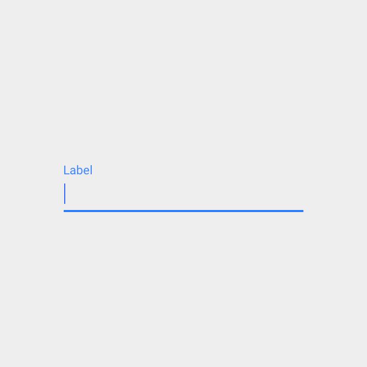 float label - after