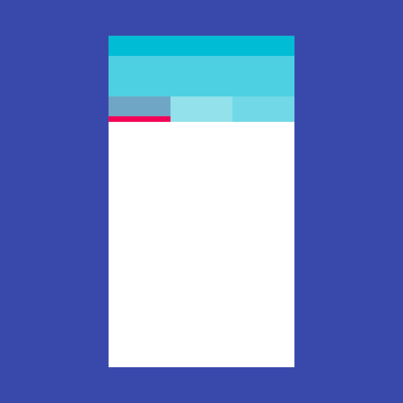 Material Design - Tabs